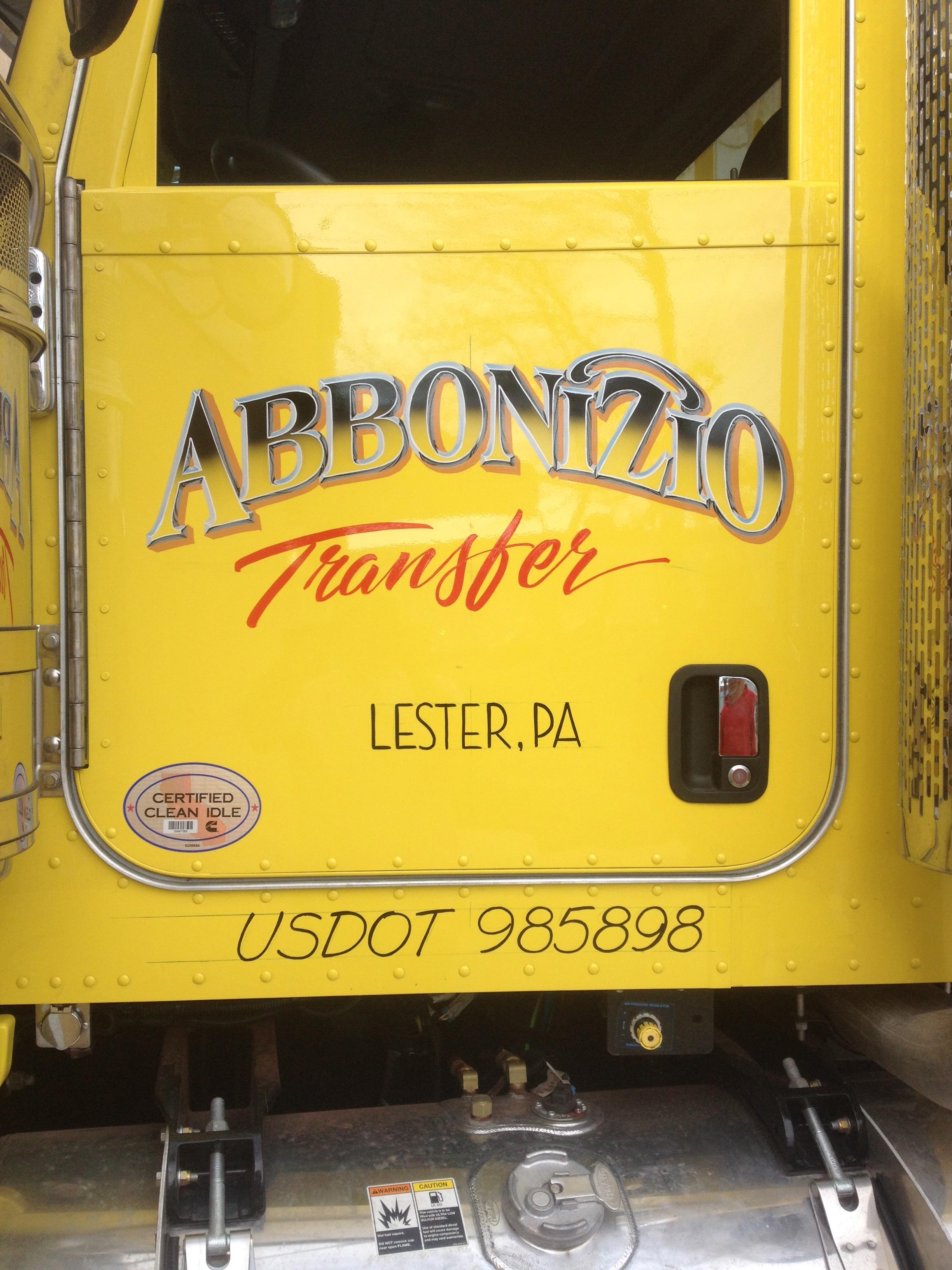 Truck Lettering Design Brilliance
